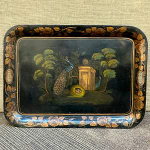 Georgian Toleware Painted Tray