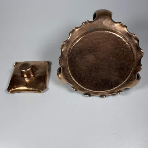 Superb Copper Candlestick - Art Nouveau Period image-5