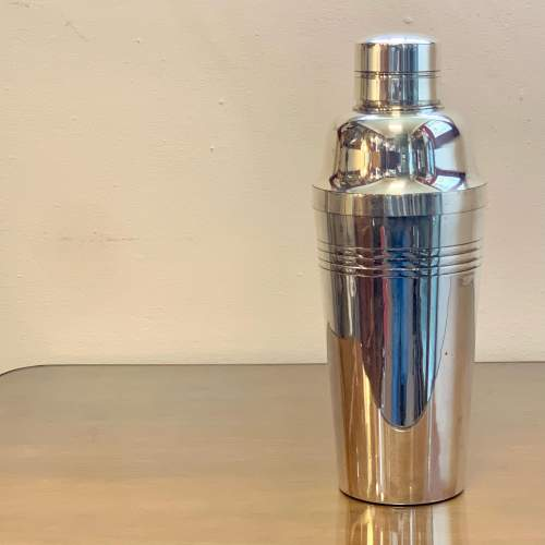 Art Deco Silver Plated French Lancel Cocktail Shaker image-1