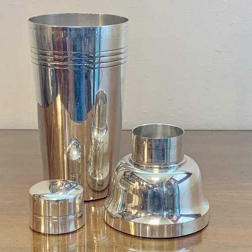 Art Deco Silver Plated French Lancel Cocktail Shaker image-2