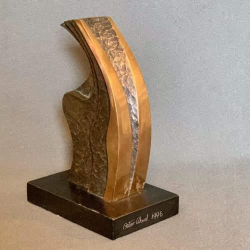 20th Century Peter Ward Untitled Bronze Sculpture image-1