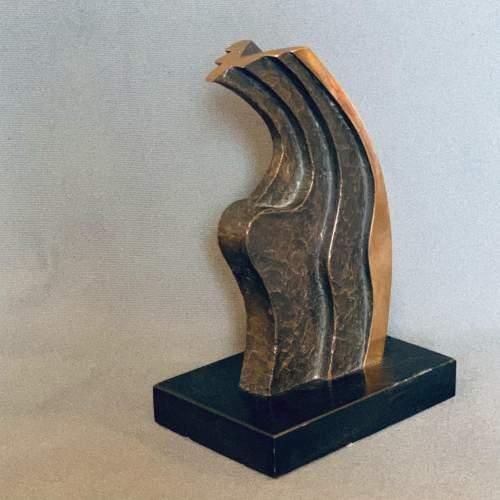 20th Century Peter Ward Untitled Bronze Sculpture image-2