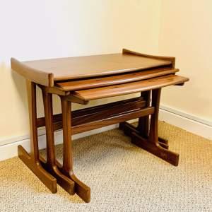 1970s G-Plan Nest of Three Teak Tables