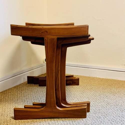 1970s G-Plan Nest of Three Teak Tables image-3