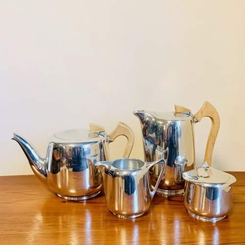 1960s Five Piece Picquot Ware Tea Service image-4