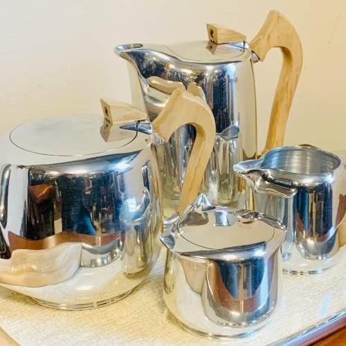 1960s Five Piece Picquot Ware Tea Service image-2