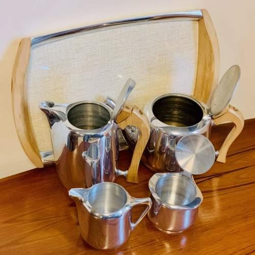 1960s Five Piece Picquot Ware Tea Service image-6