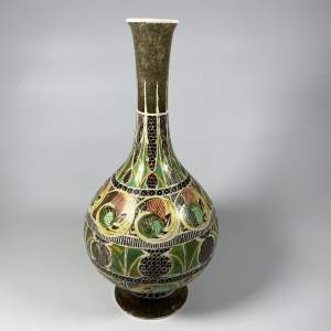 Scottish Art Pottery Vase - Art Nouveau