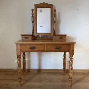 Pine Dressing Table - Handmade