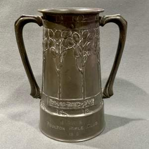 David Vessey Tudric Pewter Vase for Liberty