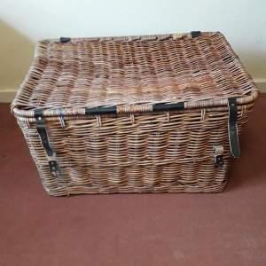 Large Wicker Mill Basket
