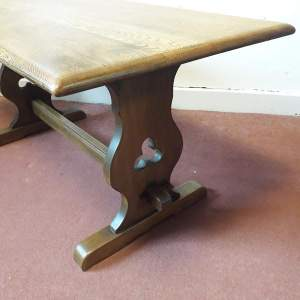 Old Charm Oak Coffee Table