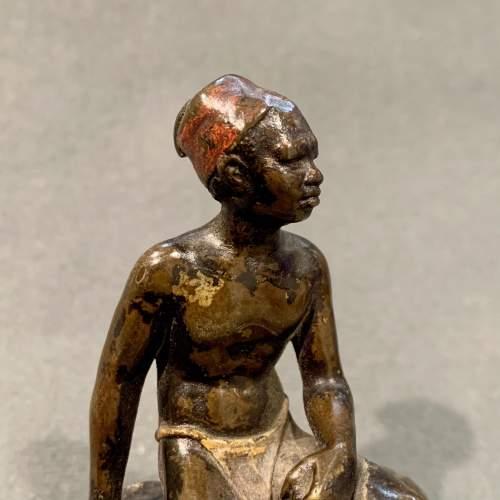 Franz Bergman Bronze Blackamoor Figure image-2