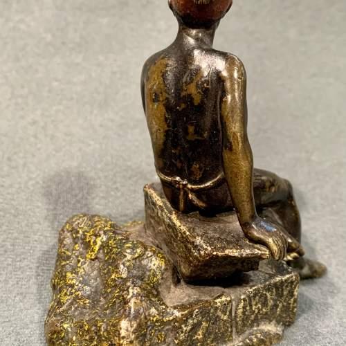 Franz Bergman Bronze Blackamoor Figure image-5