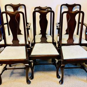 Set of Six Edwardian Dining Chairs