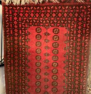 Superb Quality Hand Knotted Afghan Turkoman Village Rug
