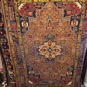 Superb Quality Hand Knotted Persian Rug Bidjar Unusual Colours