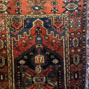 Superb Quality Old Hand Knotted Persian Rug Afshar Village Piece