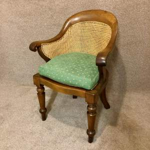 Early 19th Century Bergere Desk Chair