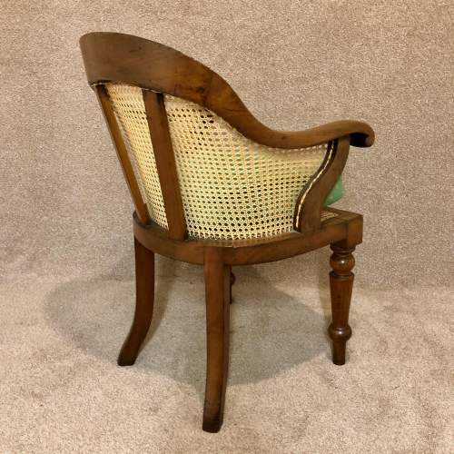 Early 19th Century Bergere Desk Chair image-6