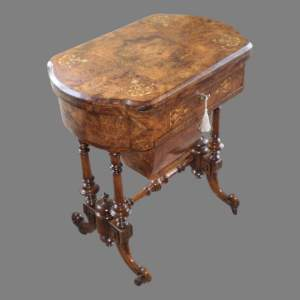 A Victorian Games and Work Table