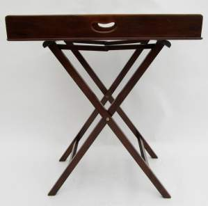 Early Victorian Butlers Tray in Mahogany