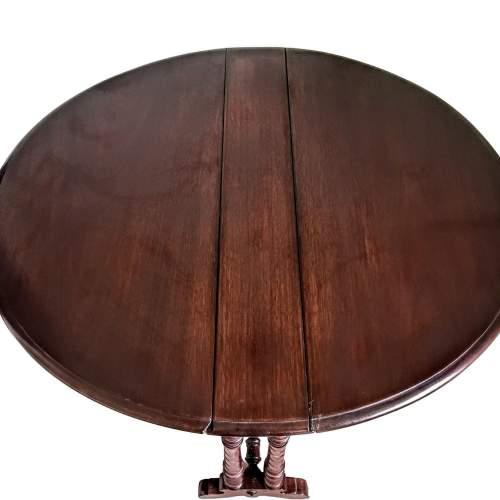 Victorian  Mahogany Sutherland Table image-2
