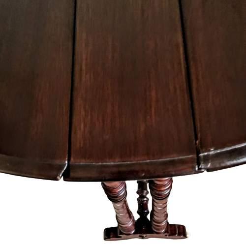 Victorian  Mahogany Sutherland Table image-3