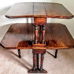 Early 20th Century Double Sutherland Tea Table