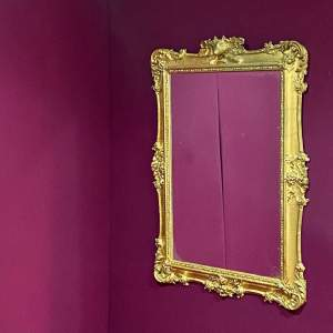Regency Period Gilt Framed Wall Mirror