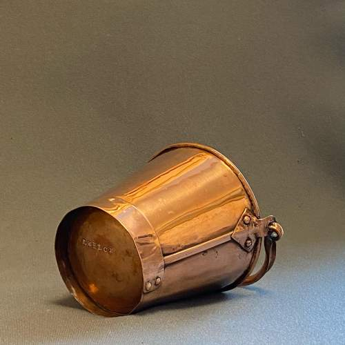 Early 20th Century Small Copper Bucket image-3