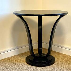 Art Deco Lamp Table