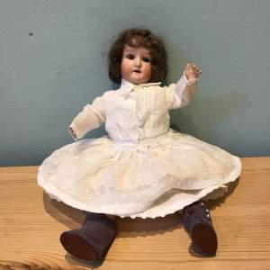 Early 20th Century Schoenau and Hoffmeister Bisque and Composition  Doll