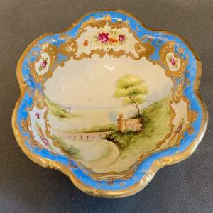 Early 20th Century Hand Painted Noritake Bowl