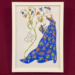 Fashion Illustration by R Jennings