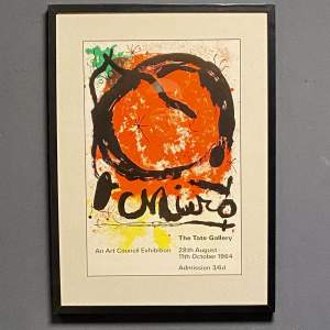 Joan Miro Tate Gallery Poster