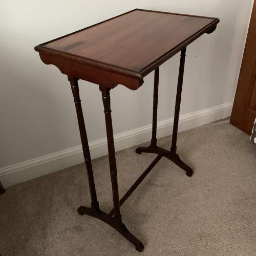 Mahogany Side Table image-1