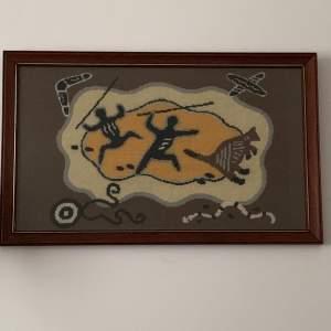 Australia Theme Framed Tapestry