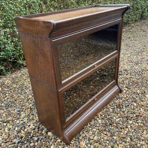Oak Sectional Stacking Bookcase