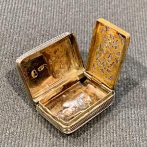 Early 19th Century Georgian Silver Vinaigrette