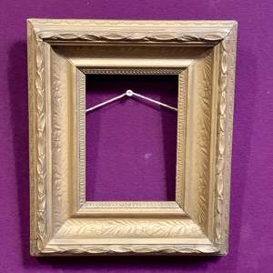 Early 20th Century Small Gilt Frame