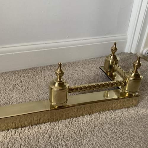 Brass Fire Fender image-3