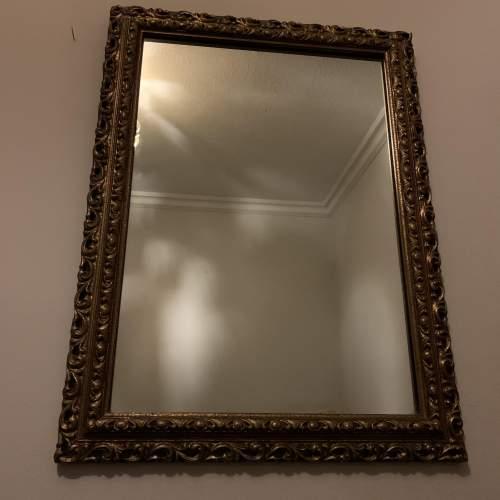 Wooden Gilt Framed Mirror image-1
