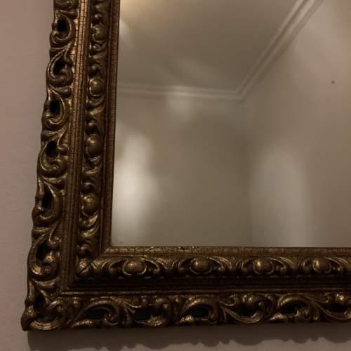 Wooden Gilt Framed Mirror image-2