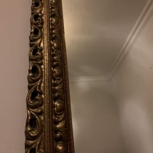 Wooden Gilt Framed Mirror image-4