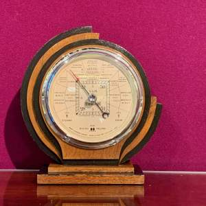 Art Deco Barometer by Short and Mason