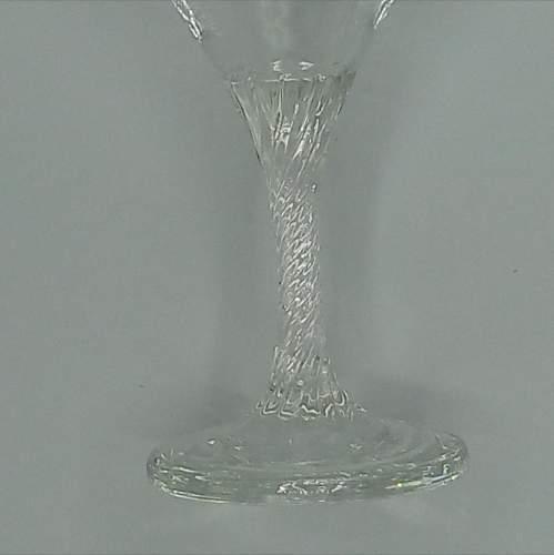 Pair of Twist Stem Babycham Glasses image-6