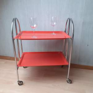 Berman Vintage Retro Bremshey Folding Trolley