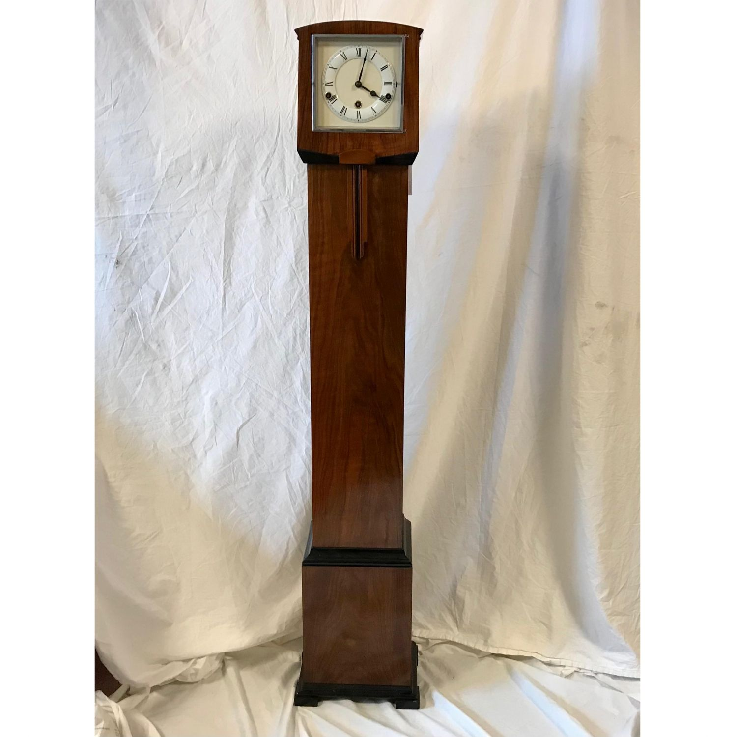 1940 S Art Deco 8 Day Westminster Chiming Granddaughter Clock Longcase Clocks Hemswell Antique Centres