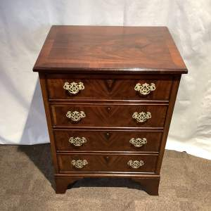 Figured Walnut Chest of Drawers